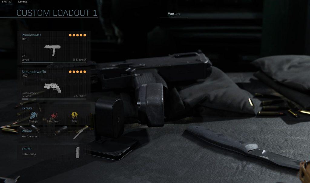 Call of Duty Modern Warfare run and gun loadout
