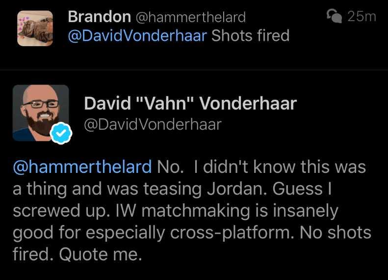 Call-of-DutyCall-of-Duty-Modern-Warfare vanderhaar entschuldigt sich 1-Modern-Warfare vanderhaar entschuldigt sich 1