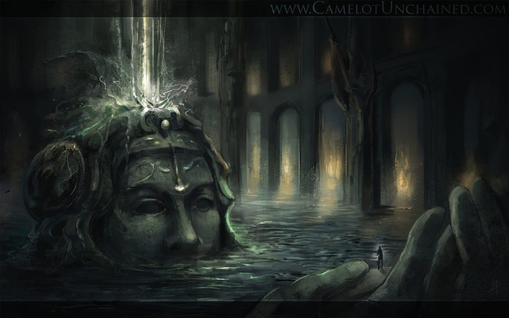 Camelot-Kopf