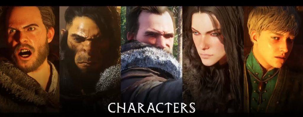 Verschiedene Charaktere aus dem neuen MMORPG