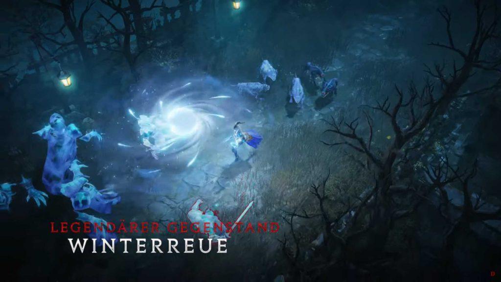 DIablo Immortal Zauberer Winterreue