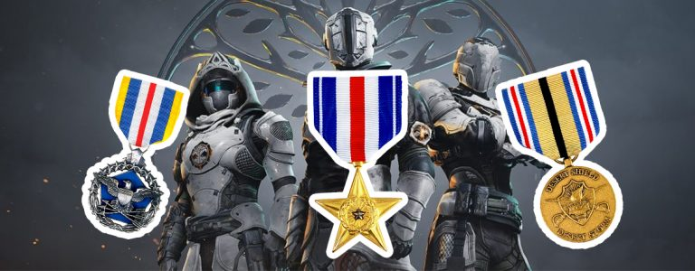 Destiny Titel Medallie Shadowkeep