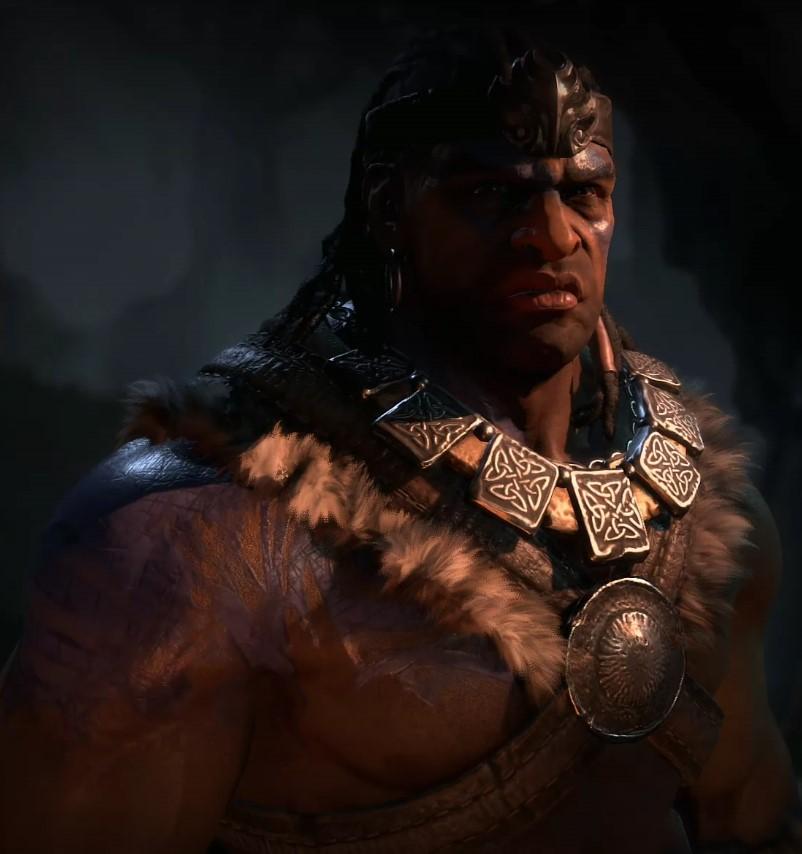 Diablo 4 Barbar Potrait