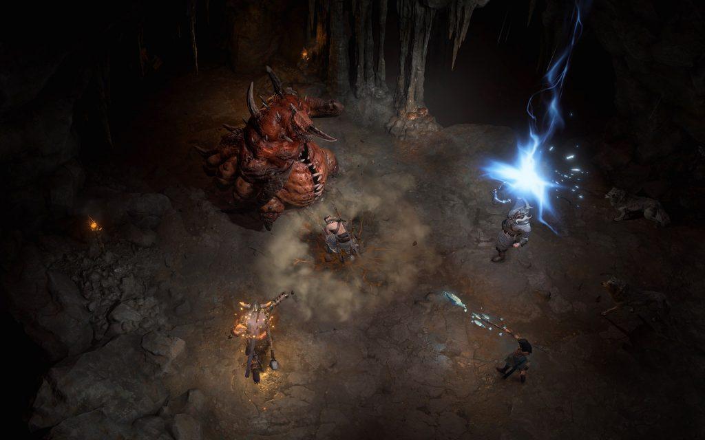 Dungeon Kampf Diablo 4