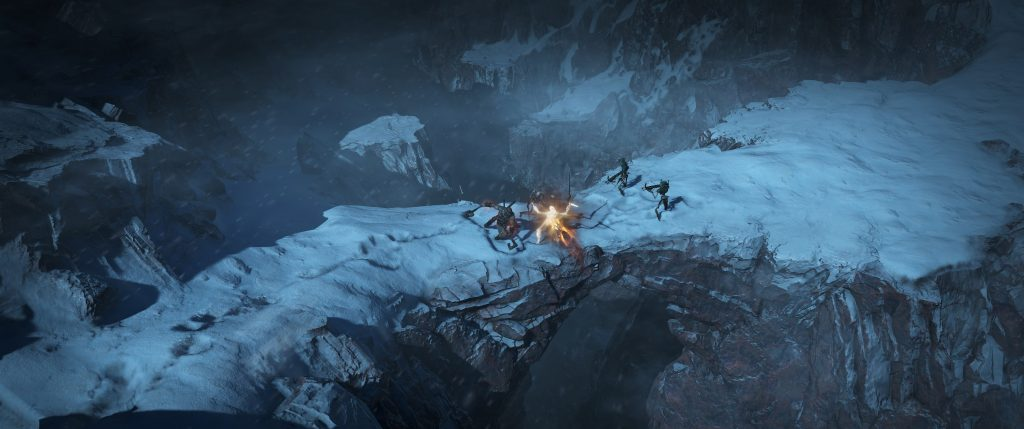 Diablo IV Schnee