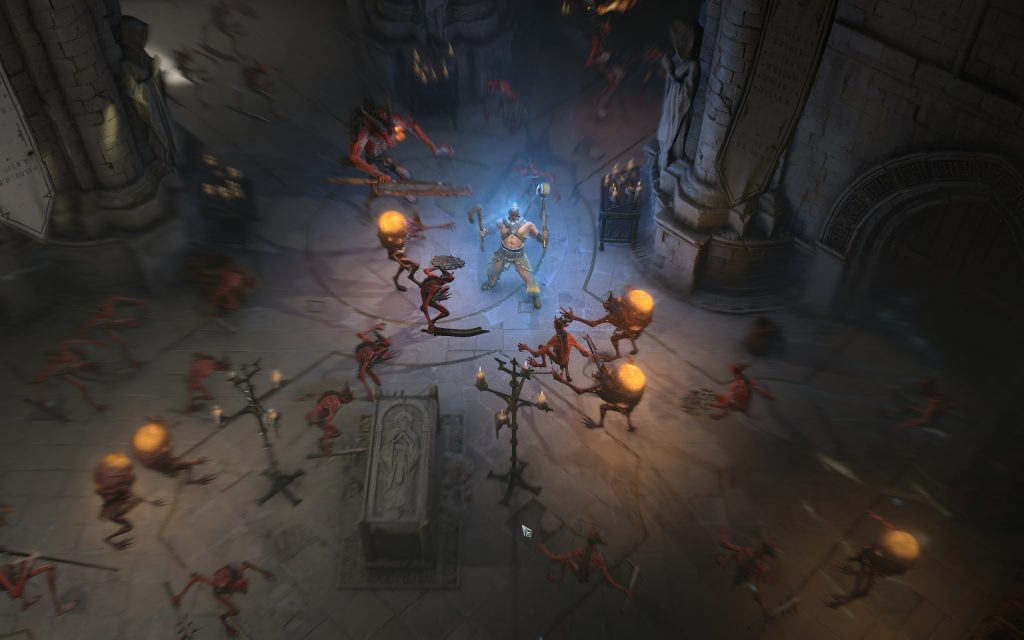 Diablo 4 Krypta Kampf