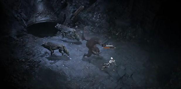 Diablo 4 Druide Angriff