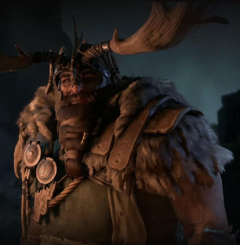 Diablo 4 Druide Portrait