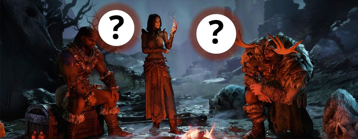 Sind Paladin und Amazone die geheimen Klassen in Diablo 4? Das spricht dafür
