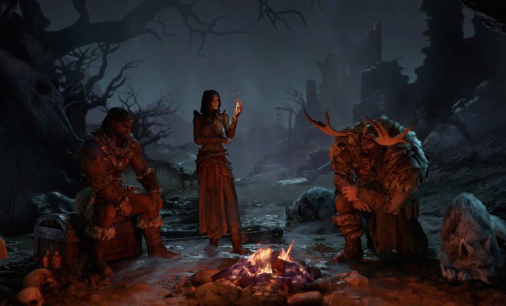 Diablo 4 Klassen Lagerfeuer