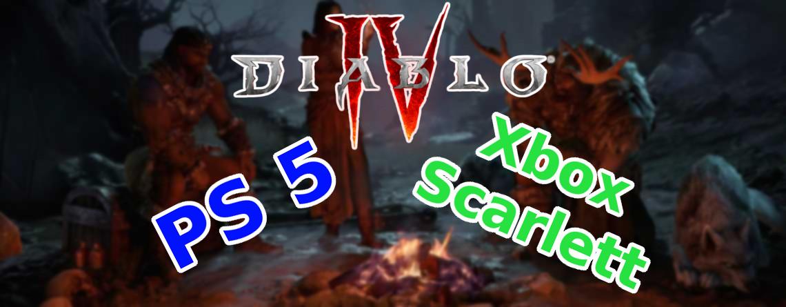 Warum ist Diablo 4 für PS4 und Xbox One angekündigt, nicht für PS5 und Scarlett?