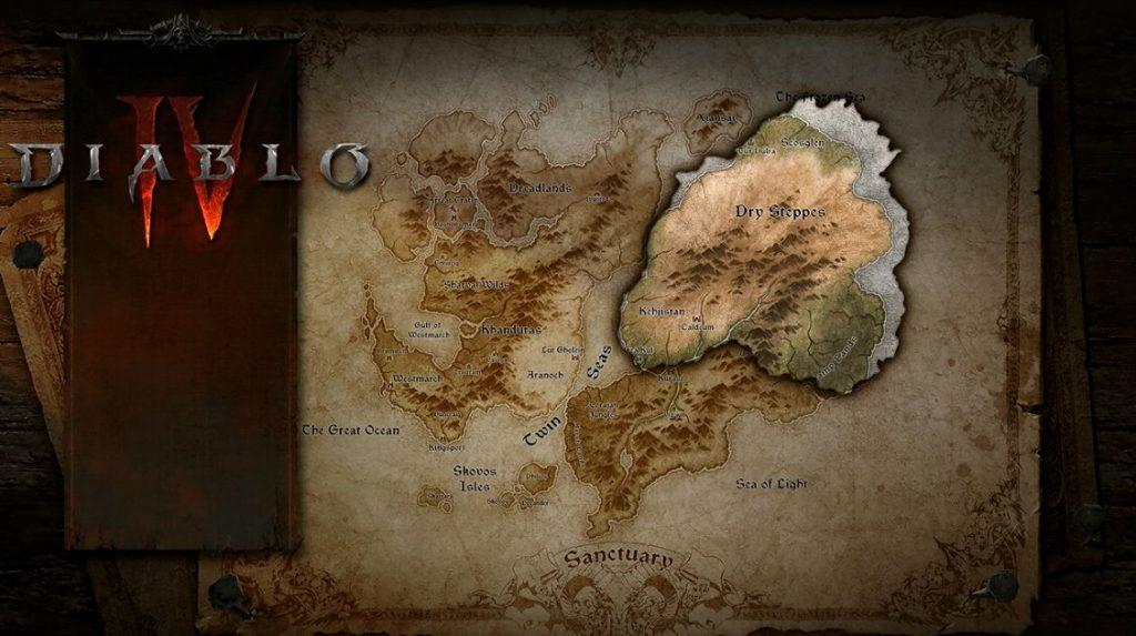 Diablo 4 Map