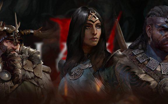 Diablo 4 Zauberer Barbar Druide