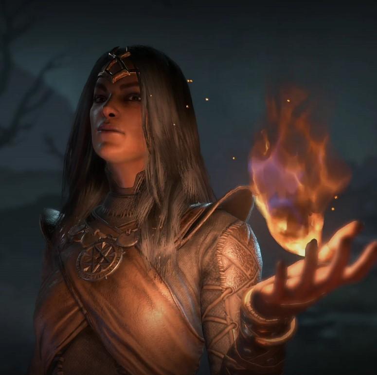 Diablo 4 Zauberin Potrait