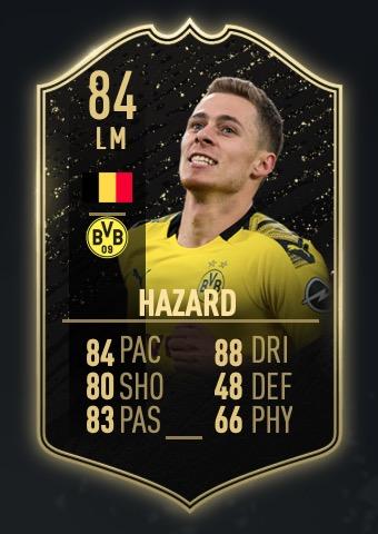 FIFA 20 TOTW Hazard
