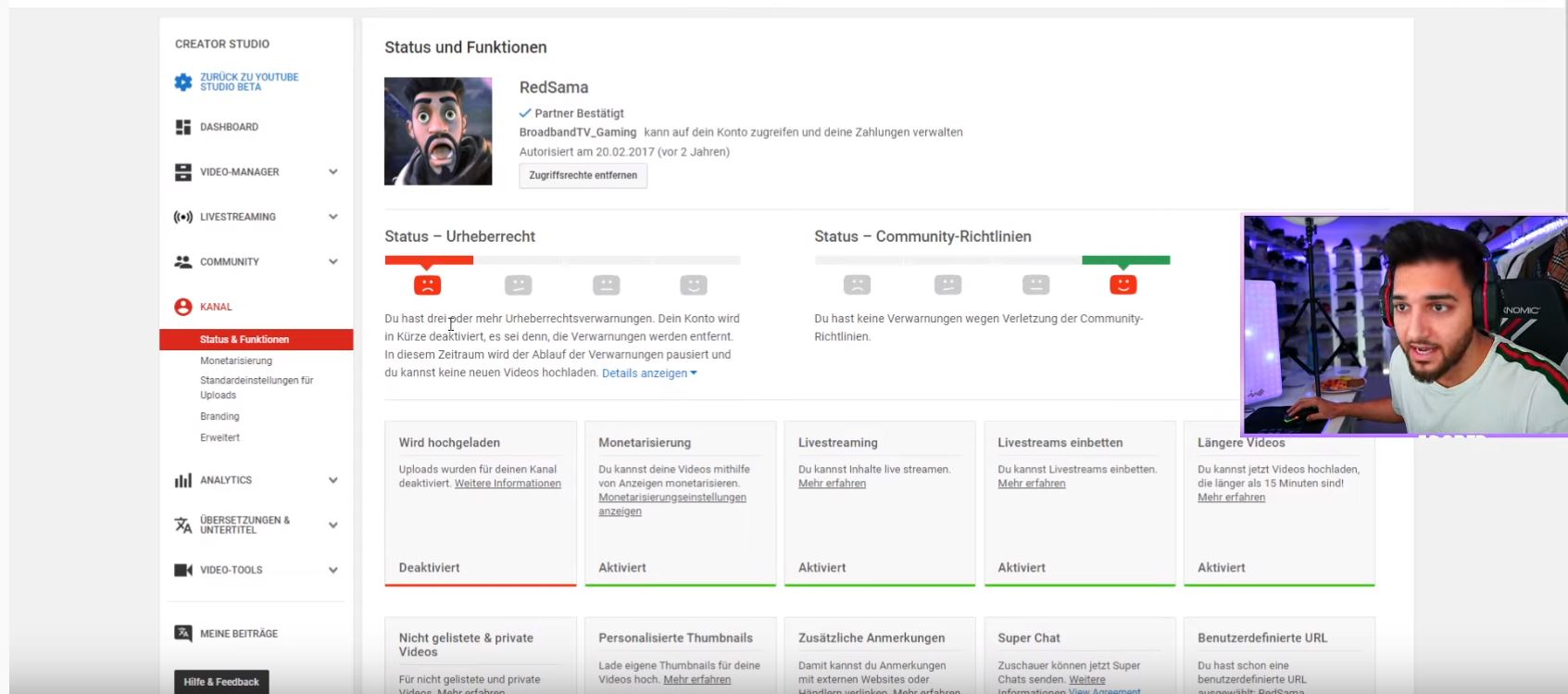 Fortnite: ApoRed sagt, Epic hasst ihn, lässt seinen YouTube-Kanal löschen