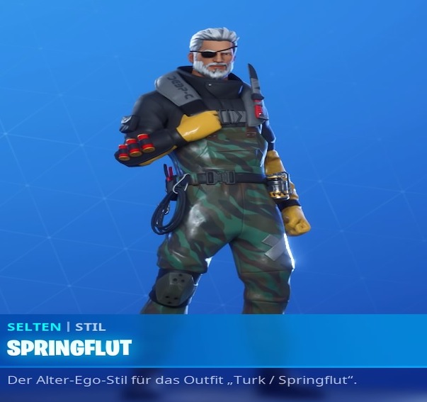 Fortnite-Springflut-Skin