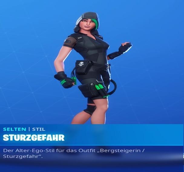 Fortnite-Sturzgefahr-Skin