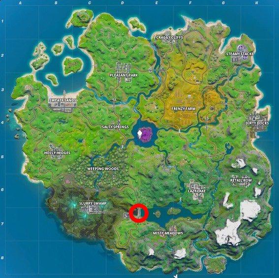 Fortnite-verstecktes-E-Map