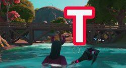 Fortnite: Verstecktes T finden – Der Fundort