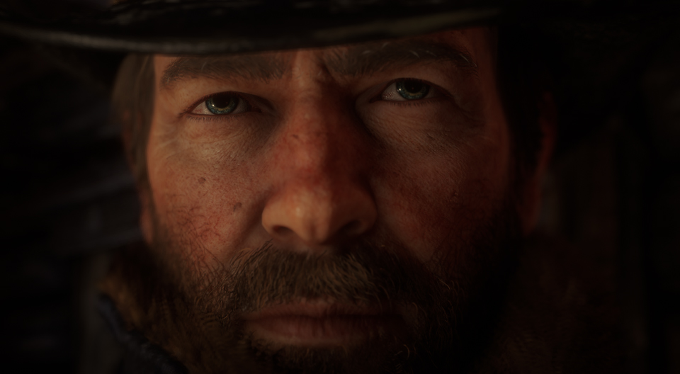 Red Dead Redemption 2 Fotomodus Arthur Augen