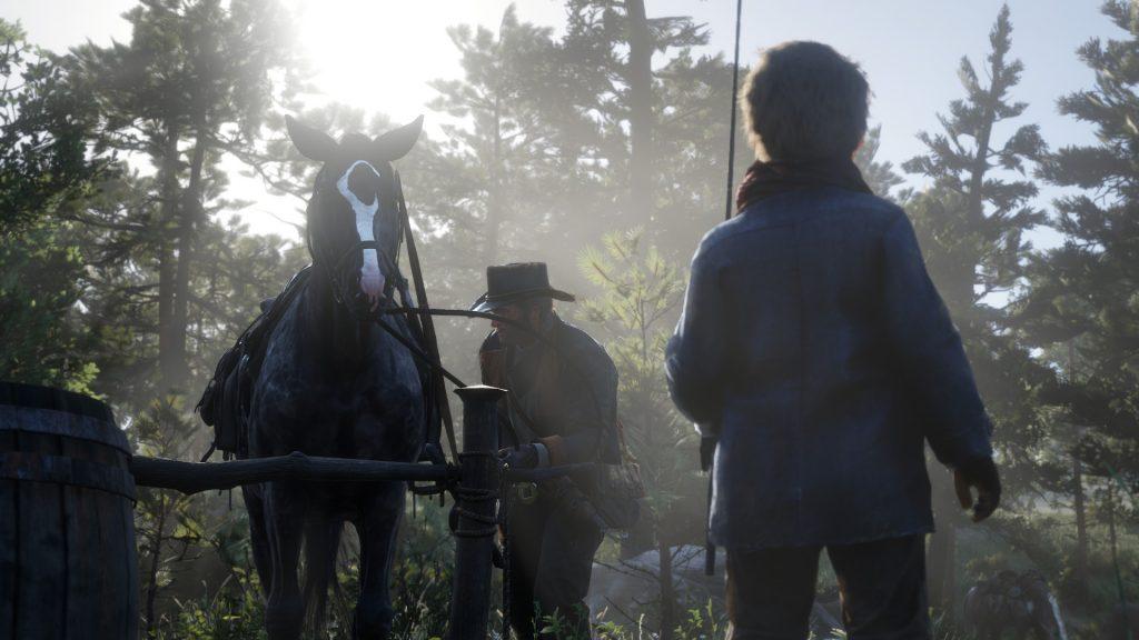 Red Dead Redemption 2 Fotomodus Arthur Fischen