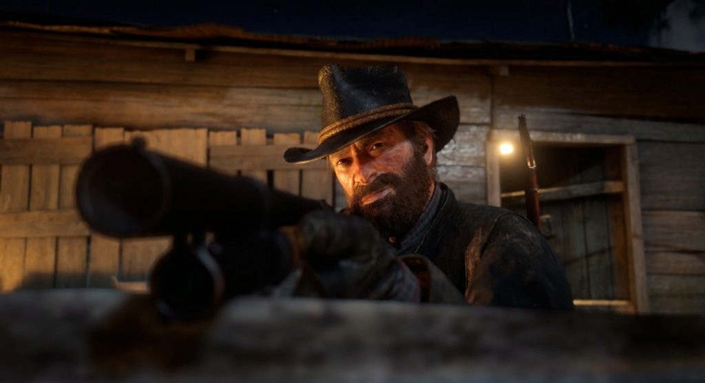 Red Dead Redemption 2 Fotomodus Arthur Flinte