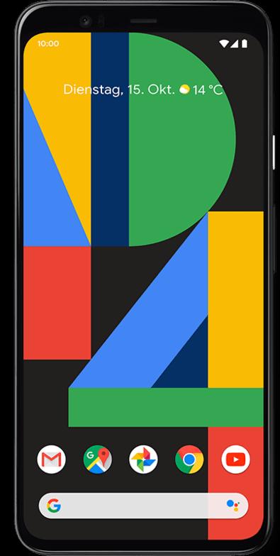 Google Pixel 4 Frontansicht