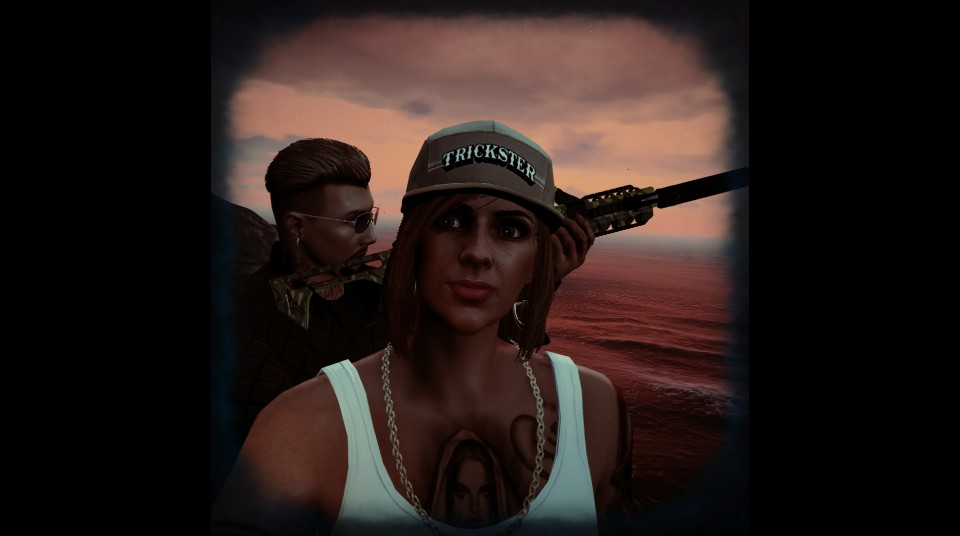 GTA online Selfie