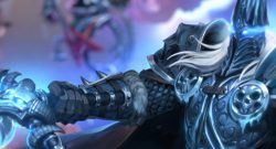 Hearthstone Arthas Battlegrounds title 1140×445