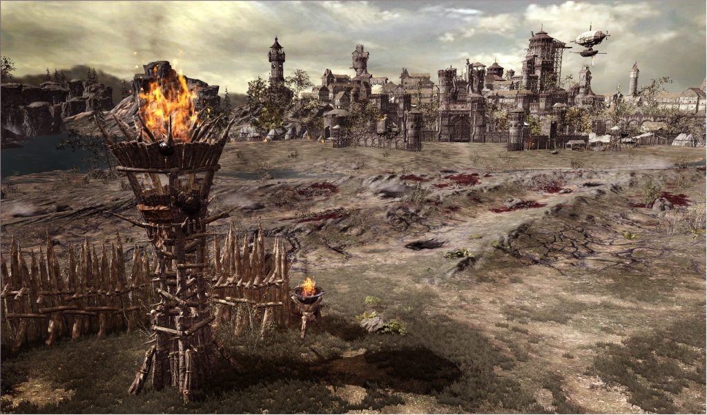 Die Landschaft in Kingdom Under Fire 2