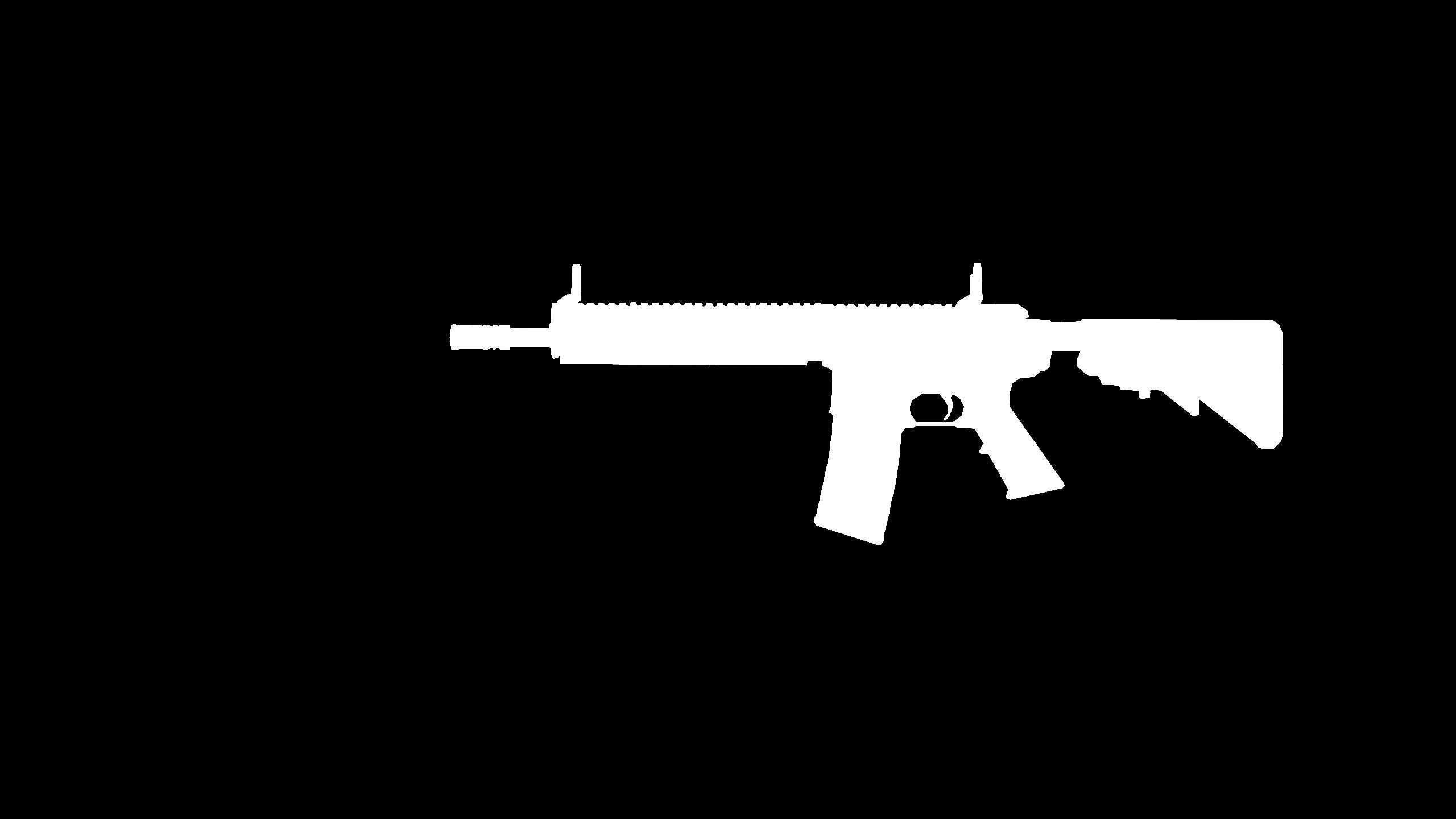 M4A1 umriss