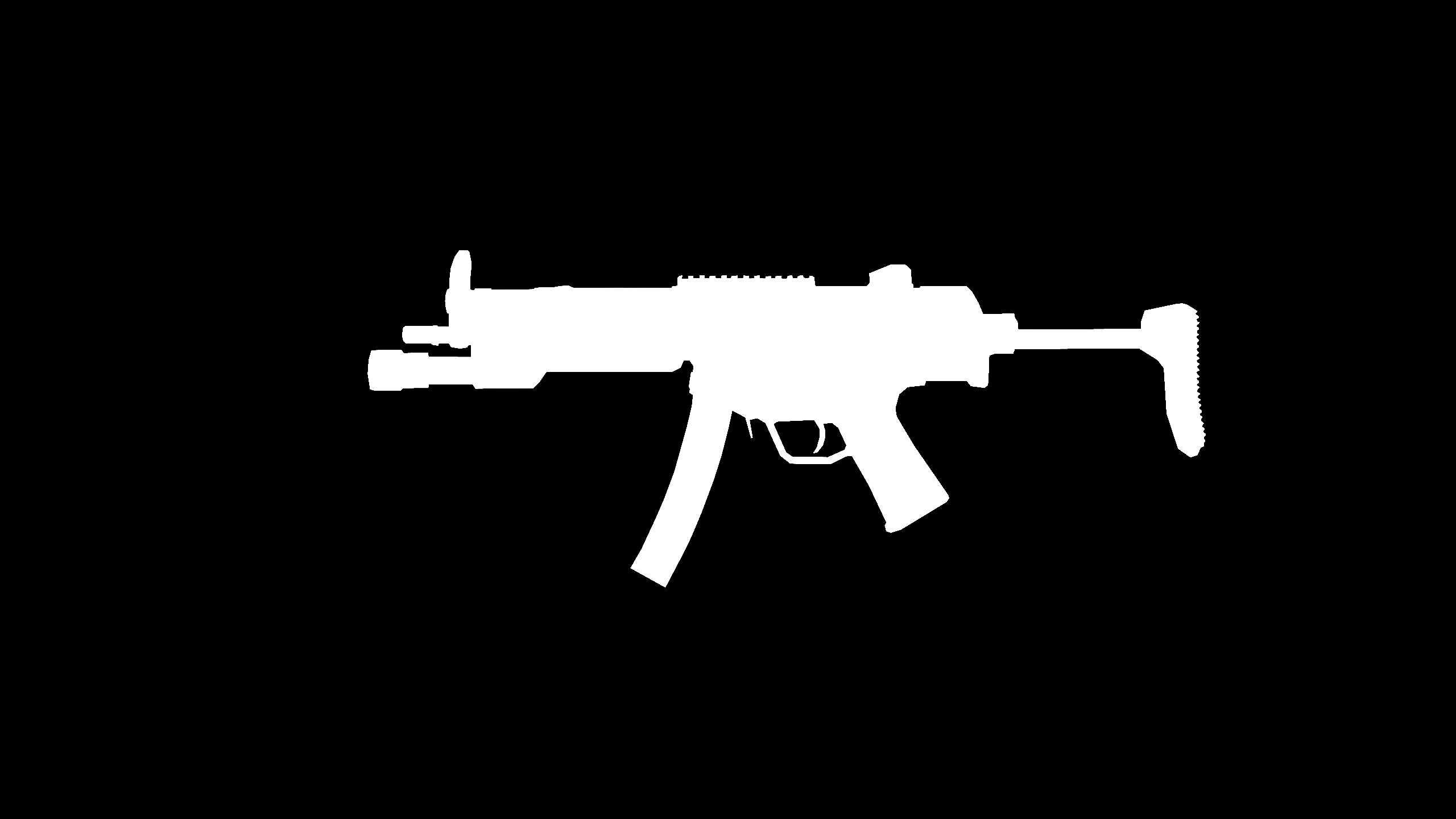 MP5 umriss