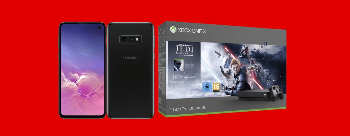 Bundle-Angebot: Galaxy S10e, Xbox One X & Star Wars: Jedi Fallen Order