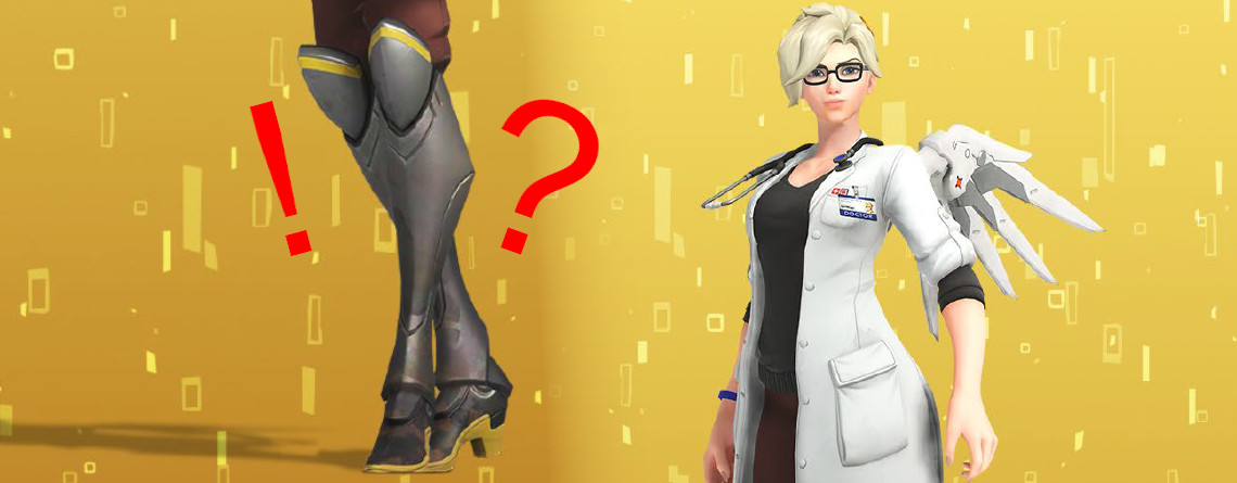 Overwatch: Verdient euch nun den neuen Mercy-Skin – die Zeit rennt