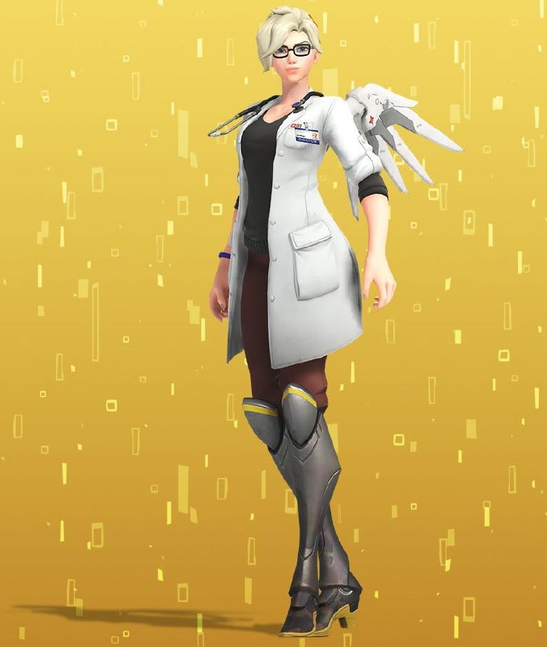 Overwatch Mercy New Skin Doctor