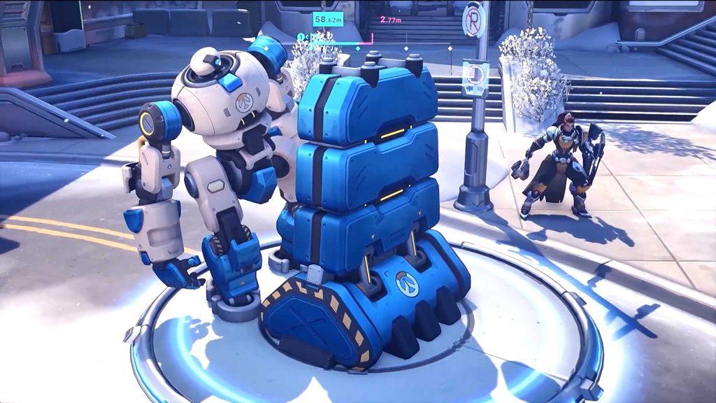 Overwatch Toronto Push Roboter