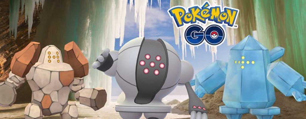 Regi Wochenende Pokemon GO