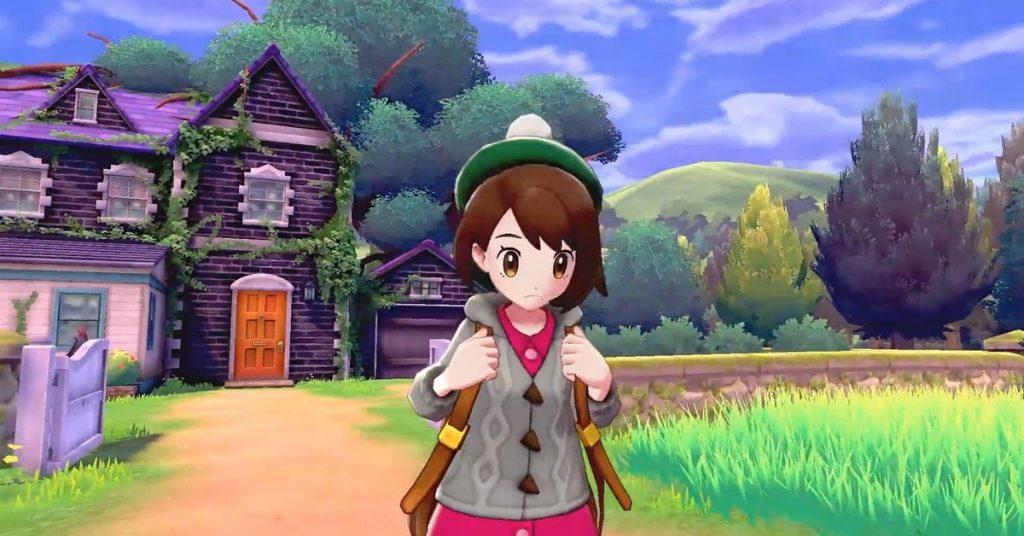 Pokemon Schwert und Schild Charakter