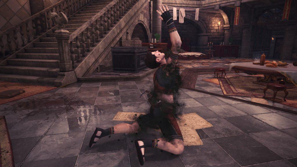 Monster Hunter World Resident Evil Zombie Geste