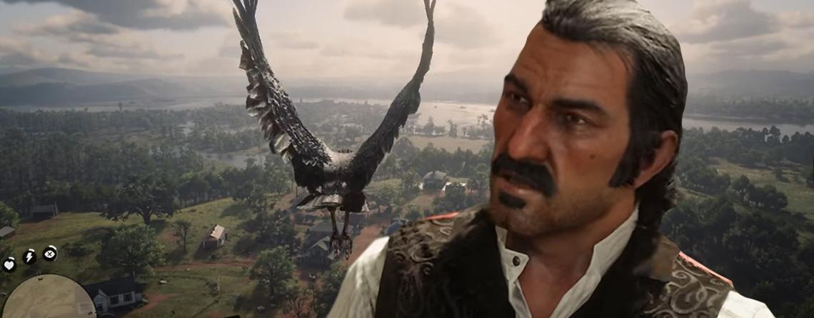 Red Dead Redemption 2 anders erleben – So leicht fliegt ihr als Adler über die Welt