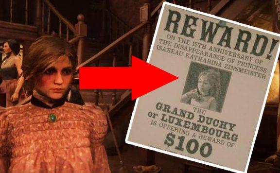 Red Dead Redemption 2 Prinzessin Isabeau Titel