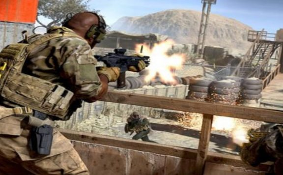 Titelbild Modern Warfare Schüsse