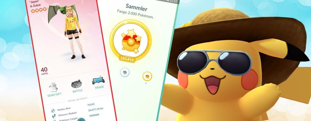 Pokémon GO: So fleißig habt ihr und eure Mitspieler in 3 Jahren Pokémon gefangen