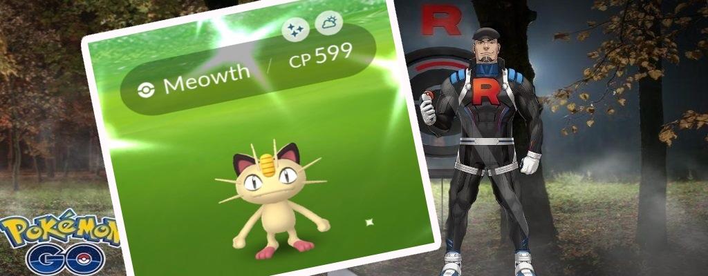Pokémon GO startet Team Rocket-Event mit Shiny Mauzi und diesen Boni
