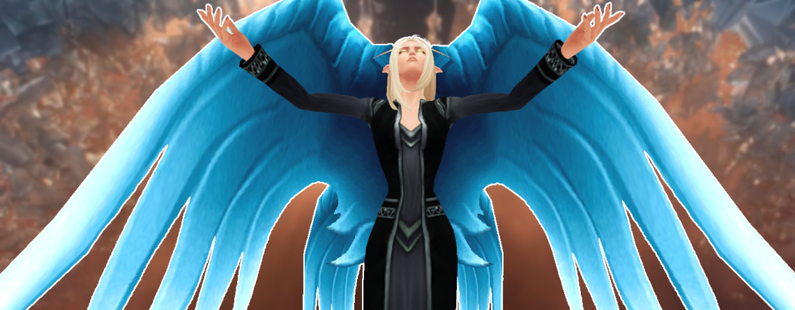 In WoW: Shadowlands könnt ihr Flügel und Heiligenscheine bekommen