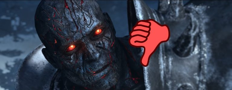 WoW Lich King Bolvar Red Eyes Thumbs down title 1140×445