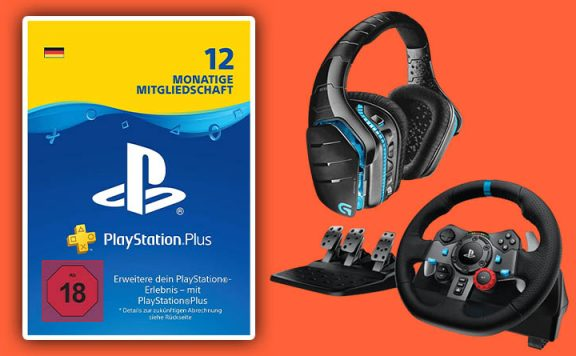 PS4 Abo Angebot: 12 Monate PS Plus im Amazon Black Friday reduziert