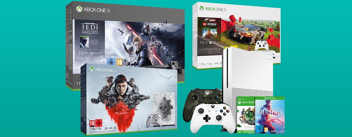 Black Friday 2019: Xbox One X & Xbox One S Bundles günstig wie nie zuvor