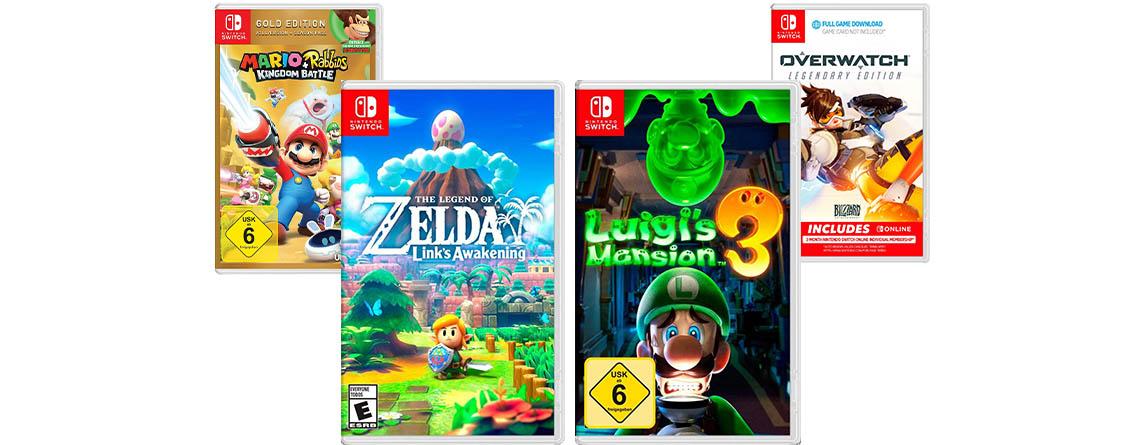 Black Friday Angebot: Diese 15 Spiele für Nintendo Switch sind im Deal